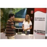 produção de eventos sustentáveis preço Vila Esperança